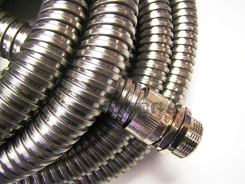 Stainless Steel Conduit IP40 Rated