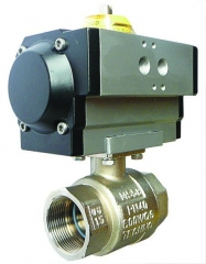 Brass Ball Valves Double Acting