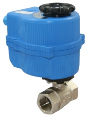 Electric Actuated Brass Ball Valve AC or DC - 24V