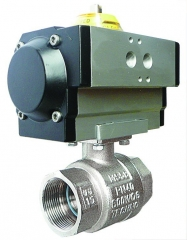 Stainless Steel Ball Valves Single Acting