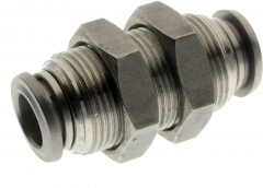 Stainless Steel Bulkhead Connector