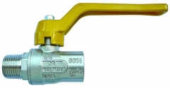 Cast Lever Handle Ball Valve Gas Approved M/F