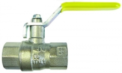 Lever Handle Ball Valve Gas Approved F/F