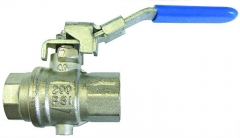 Locking & Vented Lever Ball Valve