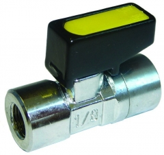 Mini Ball Valve F/F Gas Approved