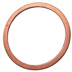 Flat Copper Washer - Metric