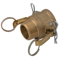 Brass Male Lever Coupling Type B
