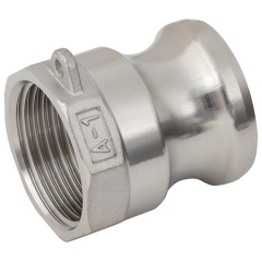 Stainless Steel Female Threaded Plug Type A