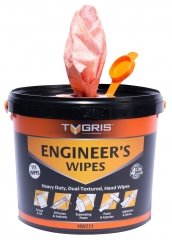Engineers Dual Textured Hand Wipes (110 Bucket) HW111