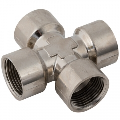 Equal Cross BSPP Nickel Plated