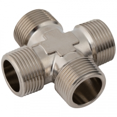 Equal Cross BSPT Nickel Plated