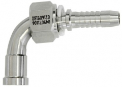 Hose Tail - ORFS Female Swivel 90 Deg Elbow