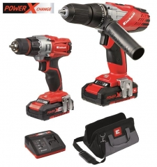 Power-X Combi Drill / Driver Twin Pack 18v Cordless
