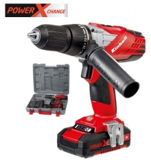 Power-X TE-CD 18-2 LI-I Combi Drill Kit 18v Cordless