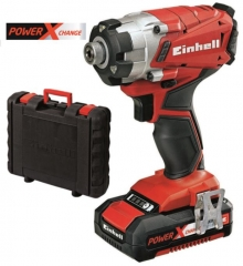 Power-X TE-CI 18 LI Impact Driver Kit 18v Cordless