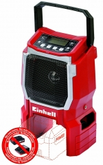 Power-X TE-CR 18LI Radio - Naked Machine 18v Cordless