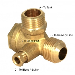 Non Return Valve (L-H Bleed Port when Fitted)