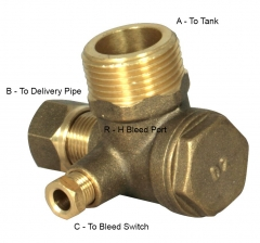 Non Return Valve (R-H Bleed Port when Fitted)