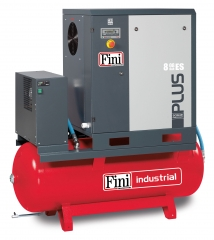FINI PLUS Series Receiver Mounted c/w Dryer - Screw Compressors