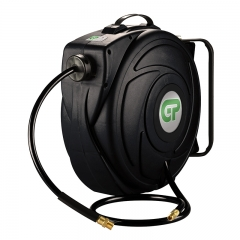 17 Metre Retractable Air Hose Reel - Black Case & Hose
