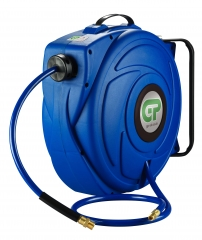 17 Metre Retractable Air Hose Reel - Blue Case & Hose