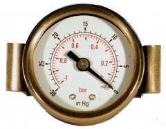 Panel Mounting Vacuum Gauge 40mm & 50mm Back Connection