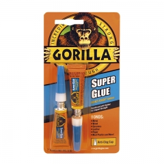 Single Gorilla Superglue 2 x 3grm