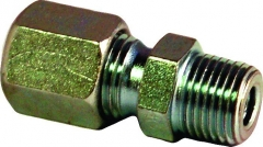 Straight Male Compression Connector BSP/MM