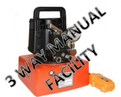 HEP103 - Electric Driven Two Stage Compact Pump - 3 Way Manual Valve