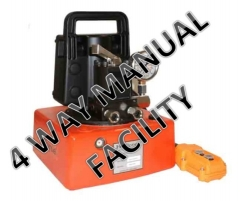 HEP103 - Electric Driven Two Stage Compact Pump - 4 Way Manual Valve