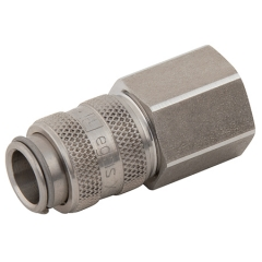 Parker Legris 21 Series Stainless Steel Couplings BSPP Female