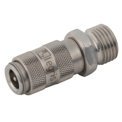 Parker Legris 21 Series Stainless Steel Couplings BSPP Male