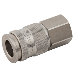 Parker Legris 27 Series Stainless Steel Couplings BSPP Female