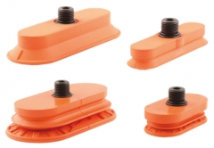 High Friction Oval Suction Cups