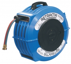 Retracta Welding Reels c/w Hoses