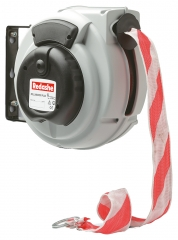 Warning Tape Barrier Reel Red/White