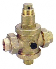 Brass Pressure Reducing Valve - Union Ends