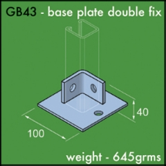 Base Plate Double Fix