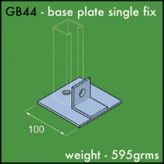 Base Plate Single Fix