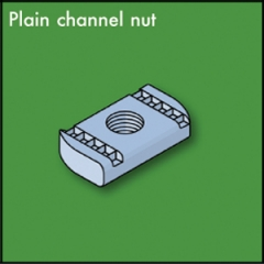 Plain Channel Nuts