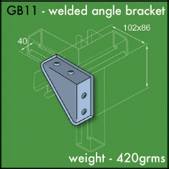 Welded Angle Brackets