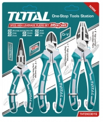 3 Piece High Leverage Combination Pliers Set