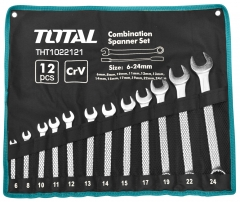 12 Piece Combi Spanner Set 6 - 24mm