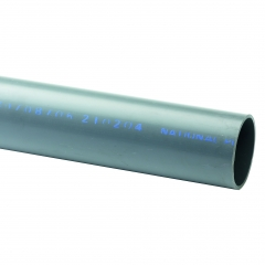 UPVC Class E Pipe Plain End 6 Metre Length