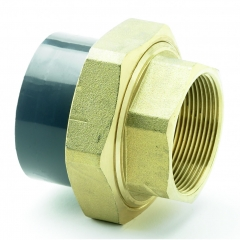 UPVC Female Brass Composite Union