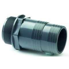 UPVC Hose Adaptor Male BSP x MM Hose Tail
