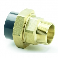 UPVC Male Brass Composite Union