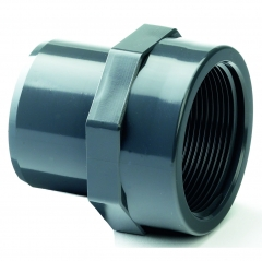 UPVC Plain Male - Female Threaded Equal Adaptor
