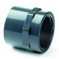 UPVC Plain/Threaded Equal Socket