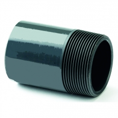 UPVC Plain/Threaded Nipple